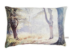 Image of Woodlands English Romantic cushion