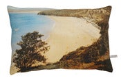 Image of Vintage beach English Romantic cushion