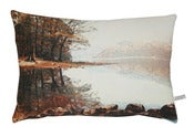 Image of Red lake English Romantic cushion