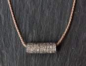 Image of Pave Diamond Bar Necklace