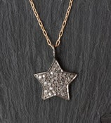 Image of Pave Diamond Star Necklace - as seen on Rachel Ray