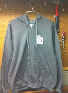 Duke Cannon Hooded Sweatshirt