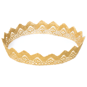 Image of Ozma. Gold Lace Crown