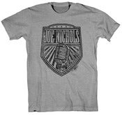 Image of Heather Gray Microphone T-Shirt