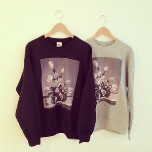 Image of Arrangement Crewneck Sweatshirt (Black or Heather Grey)