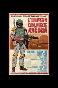 "Image of L'Impero Colpisce Ancora (The Empire Strikes Back) 11""x17"""