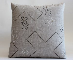 Image of cross stitch cushion