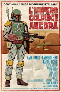 "Image of L'Impero Colpisce Ancora (The Empire Strikes Back) 24""x36"" 2nd Edition"