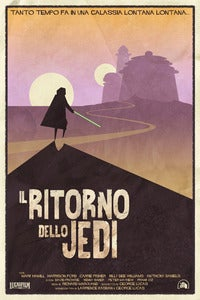 "Image of Il Ritorno dello Jedi (Return of the Jedi) 24"" x36"" 2nd Edition"