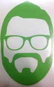 Image of Rutledge Silhouette Decal (Green)