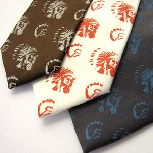 Image of Hipsters in Headdresses Neckties