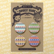 Image of Fair Isle Magnet Set