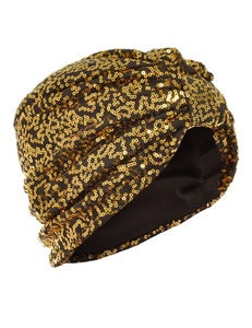 Image of SEQUIN TURBAN