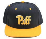 Image of Piff x American Needle snapback yel/blk/yel