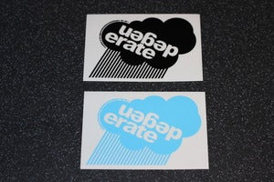 Image of 'Cloud' logo sticker pack