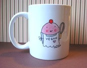 Image of MUGS: Vegan Baker Cupcake Mug
