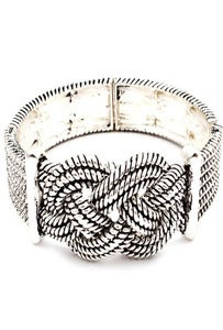 Image of Knotted Silver