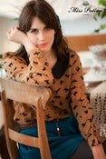 Image of Pearl Jam Blouse (brown)