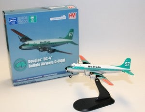 Image of DC-4 Die Cast Model Deal C-FIQM