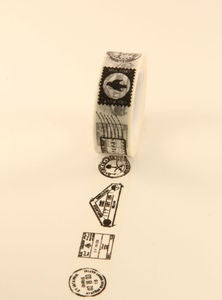 Image of washi tape - #386 - postage stamp