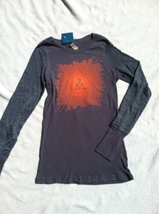 Image of buddha - ladies combo long sleeve - indigo
