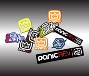 Image of PanicREV Sticker Pack