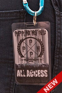 Image of PPNP EMBLEM All Access key ring laminate
