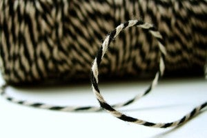 Image of Black Kraft Bakers Twine by Timeless Twine