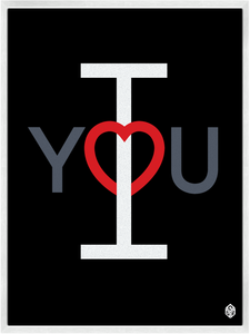 Image of I Heart You Print