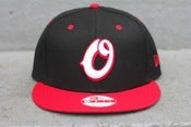 Image of black red white oneness new era snapback