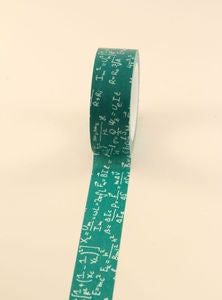 Image of washi tape - #1001 - math