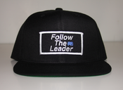 Image of Follow The Leader Patch Snapback (Black)