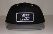 Image of Follow The Leader Patch Snapback (Black/Grey)