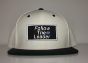 Image of Follow The Leader Patch Snapback (White/Black)