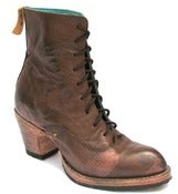 Image of No.0036 CROSSWALK ankle lace-up boot Espresso