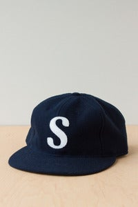Image of Wool Cap- Navy