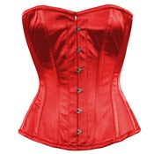 Image of Red Satin Overbust