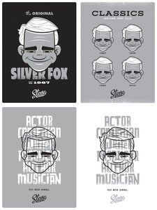 Image of Steve Martin: Full Set of 4