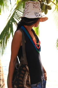 Image of beach bum hat - tribal
