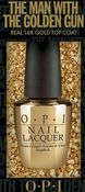 Image of OPI The Man with the Golden Gun 18K Top Coat Limited Edition