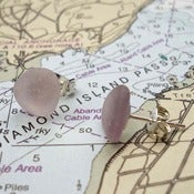 Image of Sea Glass Post Earrings
