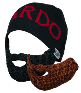 Image of Beardo 'Legit Knit' Red Combo