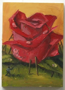 Image of &quot;Rose&quot; oil study