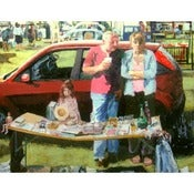 Image of Trevor Burgess: Car boot sale