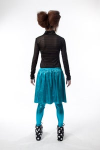 Image of METALLIC SKIRT