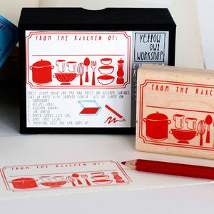 Image of From The Kitchen Of Stamp Kit