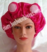 Image of Strawberry Gummy Bear Bonnet Adult &amp; Child Sizes