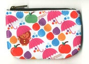Image of Umbrellas & Apples Coin Purse