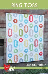 Image of Ring Toss #134, Paper Pattern