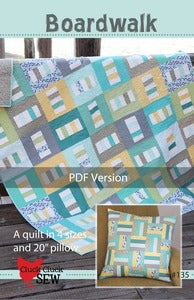 Image of Boardwalk #135, PDF Pattern